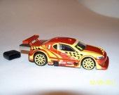 8gb Flash Drive Car - Iron Man Honda Drift Race copper & yellow  - School Gift - Free Cap, cable, apps