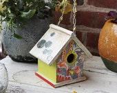 Tea party birdhouse