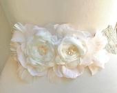 Custom Listing Bridal Sash, Belt, Wedding Accessories, Bridal Accessories, Blush, Champagne, Ivory, Beige