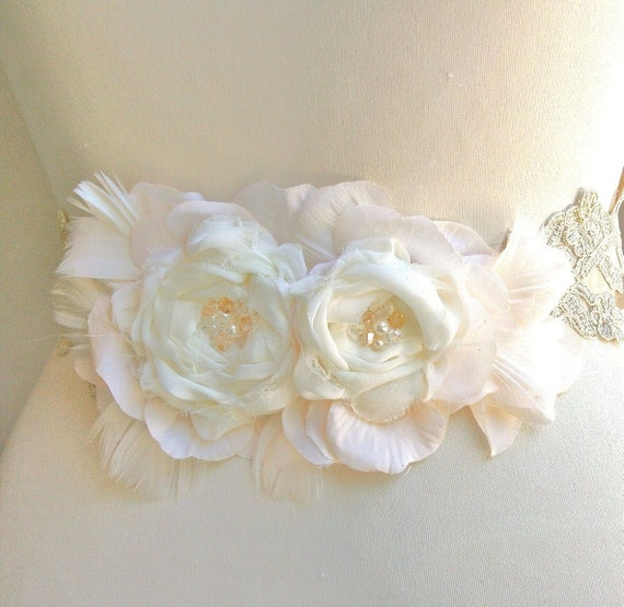 Custom Listing Bridal Sash, Belt, Wedding Accessories, Bridal Accessories, Blush, Champagne, Ivory, Beige