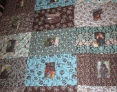 Gorgeous Modern Photo Quilts - Can Customize for Weddings, Anniversaries, Babies, & More