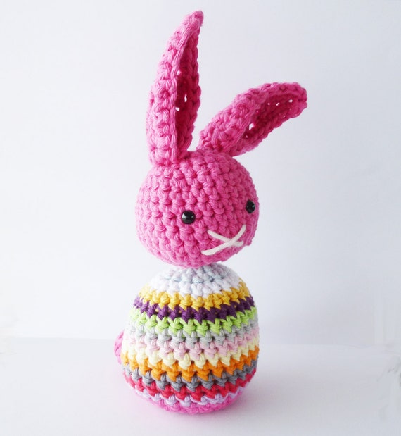 Crochet Easter Bunny Pattern - Instant Download