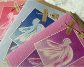 Personalised Confirmation Card - Dove (blue, pink or purple) - Handmade in Ireland