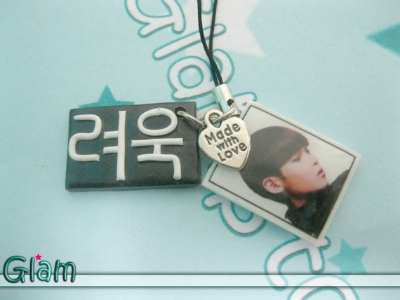 Super Junior Ryeowook A-Cha handmade PHONE CHARM