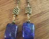 Beautiful Blue Lapis Lazuli Earrings