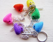 peep chicks charm bracelet // gift wrapped and ready for easter baskets