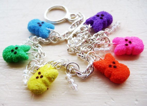 custom listing for abunyik - peep bracelet, earrings, charms, and necklace chains