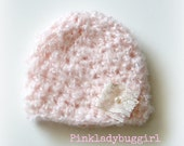 pale pink hat newborn size photo prop Professional photographer must have