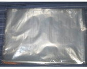 100 Clear Poly Bags Flat Open Top 1 MIL 9 x 12 Craft Supplies Storage