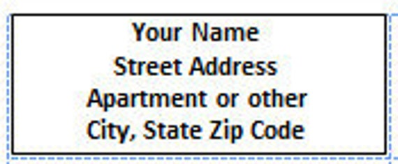 White Address Labels Custom 1 x 2 5/8 inch Self Adhesive Stickers