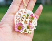 Wildflower Vase Necklace