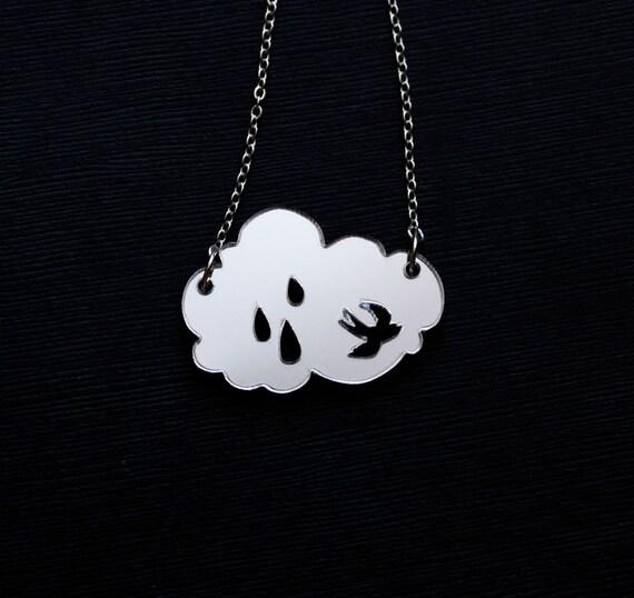 Rainy Day Necklace - SALE
