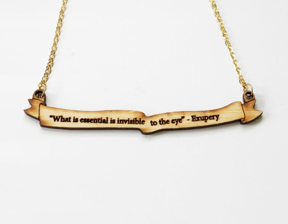 CUSTOM Quote or Text Necklace