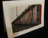 "SALE: ""To the Bridge"" - Blank Greeting Cards"