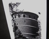 """SALE: """"Water Tower"""" - Blank Greeting Cards"""