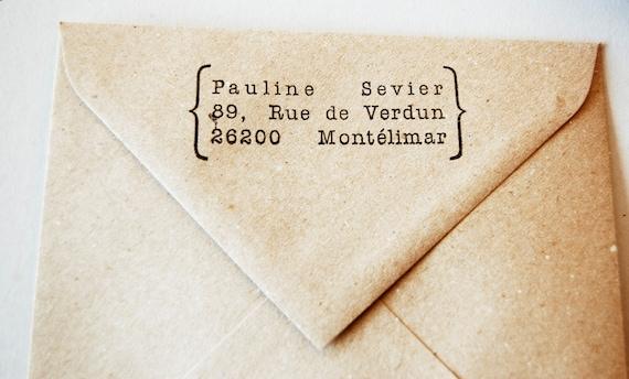 Custom Stamp return address. Last one