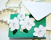 Gardenia Folded Notecard