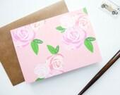 Roses Notecard