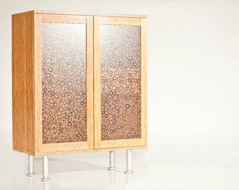 Bamboo Liquor/Wine Cabinet