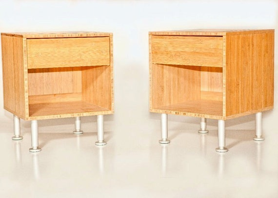 Bamboo End Table/Nightstand