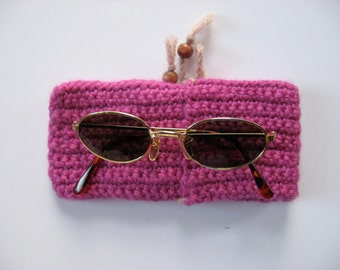 small wool glasses case