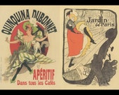 """French Poster Art, Paris Flavored Syrup At All Cafe's """"Quinquina Dubonnet, And Paris Jane Arvil At The Music Hall"""