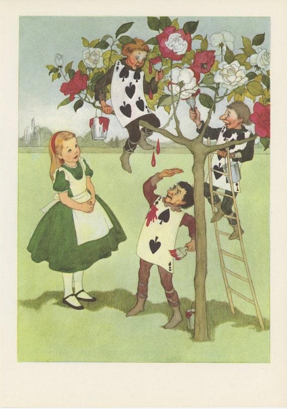 Lewis Carroll Painting Wonderland Lewis Carroll