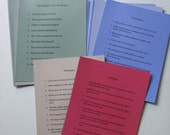 Montessori Reading Analysis Charts, Stage I and II - File Downloads