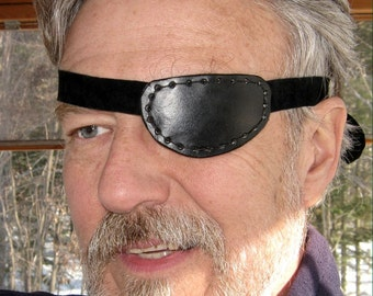 Leather Eyepatch Steampunk Small Eyepatch Black Eyepatch Eye Patch Cosplay