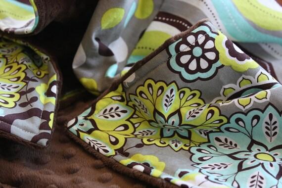 GENDER FRIENDLY Patchwork Baby Blanket