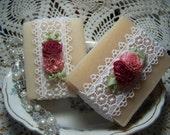 Sale - Shea butter, organic,  handmade soaps - Almond-Coconut- reg price 9.00