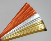 Gold, Silver & Copper : Lucky Stars Paper Strips (100)
