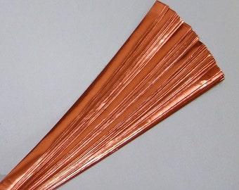 Orange Foil : Lucky Stars Paper Strips (100)