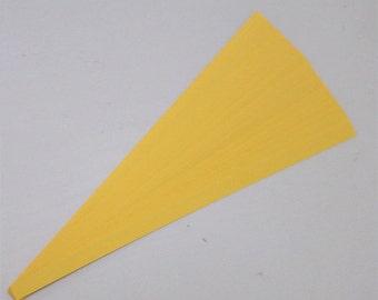 Goldenrod : Lucky Stars Paper Strips (100)