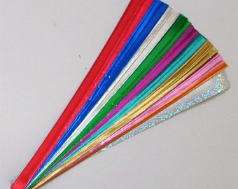 Confetti Foil Mix : Lucky Stars Paper Strips (100)