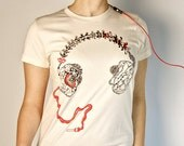 Anatomical Headphones: Brain and vertebrae making up headphones. Unisex and Women's Styles american apparel. Somaphony