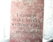 Sherlock Holmes Journal - Brick Building Quote
