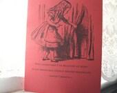Alice in Wonderland Journal - Impossible Things
