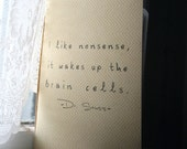 Dr Seuss Nonsense Journal