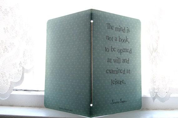 Severus Snape Journal - Mind Quote