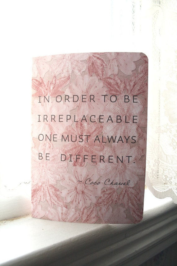 Coco Chanel Journal