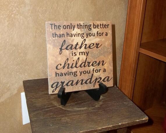 Grandpa Decorative Tile