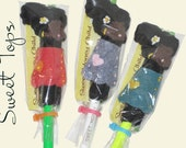 The Sweet Pointed Sisters Pencil Toppers