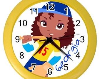 Pretty Tough Personalized Wall Clock