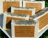 SLEEP Soap made with milk, raw organic honey and essential oils - Detergent, SLS, and Dye FREE