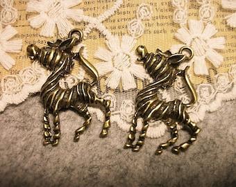 4 PCS Love Free Zebra-necklace pendants-FZ120