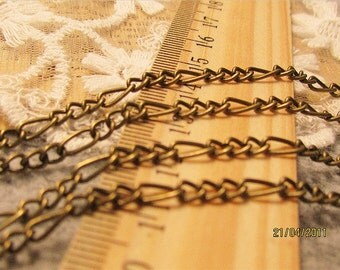 jewelry handmade must-have  unique cable chain-16 feet-brass material-F291
