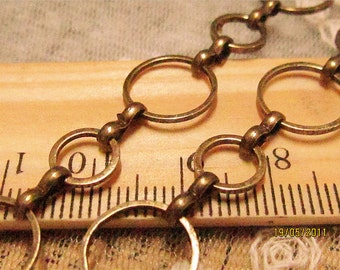 Promotion season-3.3 feet fantastic  loop chain -brass chain-F322-circle linked chain