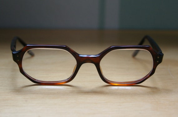 Brown Betty Tortoiseshell 1960's Vintage Eyeglasses