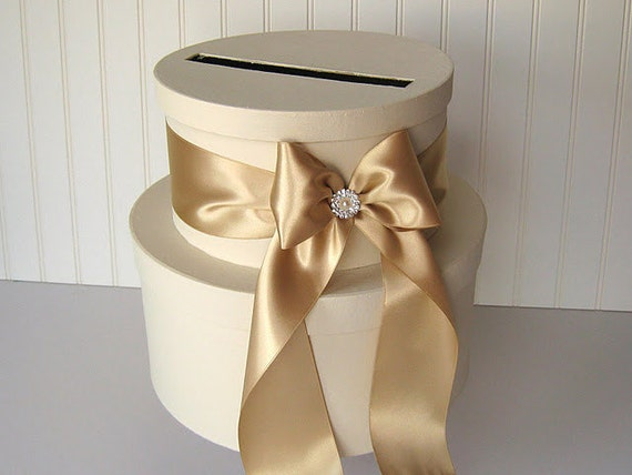 Diy Wedding Gift Box: Wedding Card Box DIY Kit And Supplies